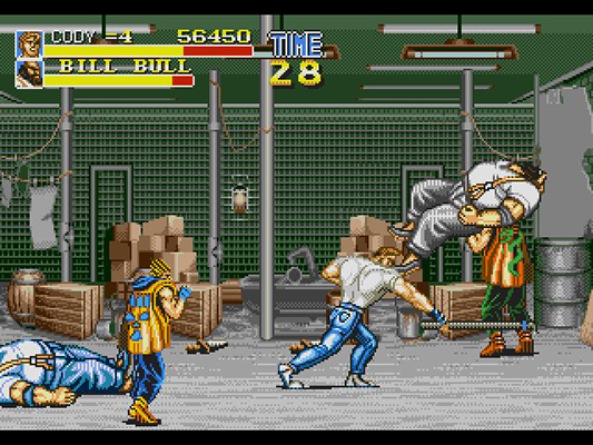 final fight cd music